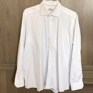 Eton Men's White Dress Shirt
